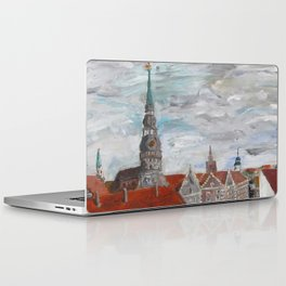 St Peter's Cathedral from City Hall Laptop & iPad Skin