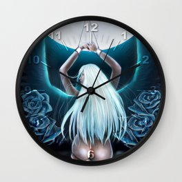 Wings of wishes Wall Clock