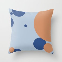Travel Girl Throw Pillow