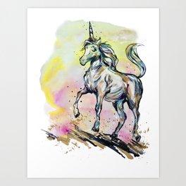 Phony Pony Art Print