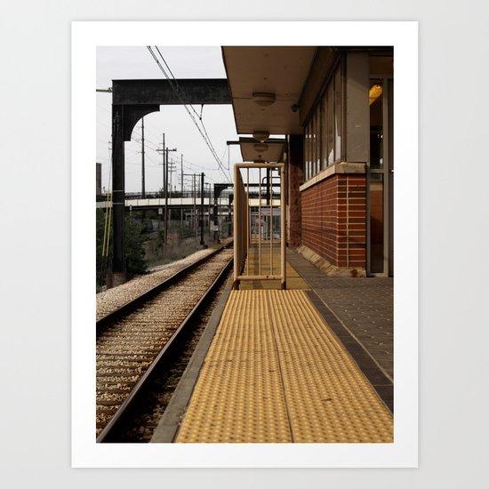 urban teleport Art Print