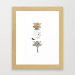 Minou Matisse Bizet Framed Art Print