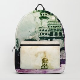 Charminar-Indian Monument Backpack