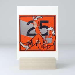 25 MPH Recline Mini Art Print