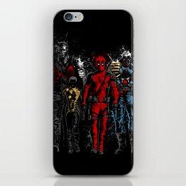 Violent Red Ninja Hero iPhone Skin