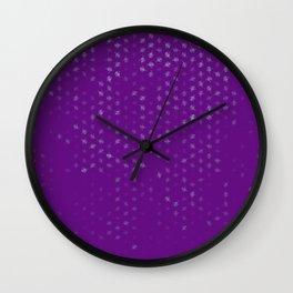 leo zodiac sign pattern pt Wall Clock