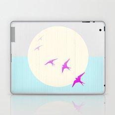Flying into the Sunset Laptop & iPad Skin