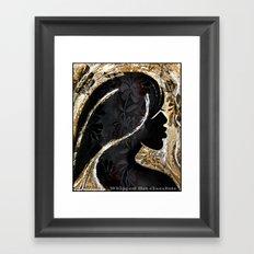 Whipped Hot Chocolate Framed Art Print