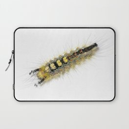 Rusty Tussock Moth Caterpillar Laptop Sleeve