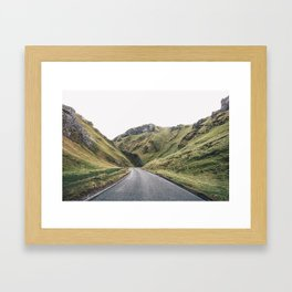 Castleton in the Peak District Framed Art Print