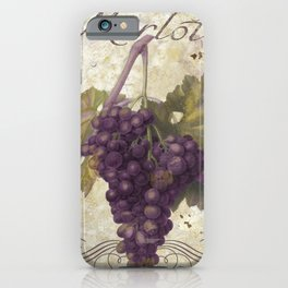 Tuscan Table Merlot iPhone Case