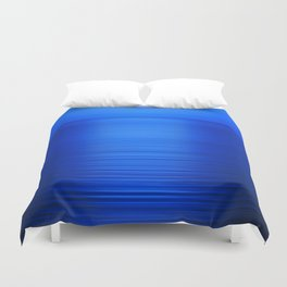 Sunset on the Water-Deep Blue Duvet Cover