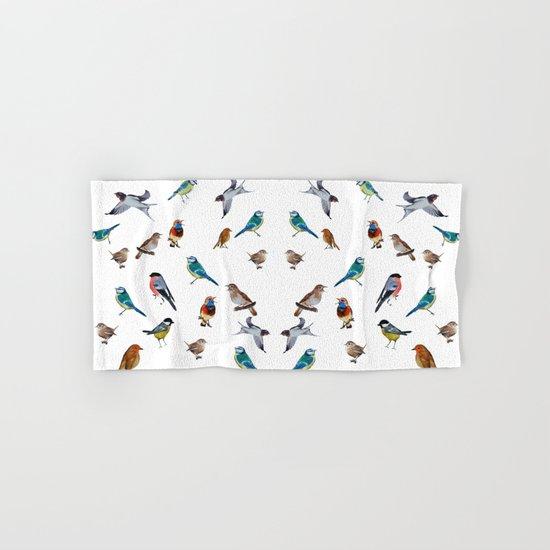I love birds Hand & Bath Towel