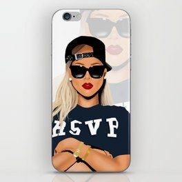 Badgalriri iPhone Skin