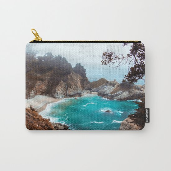 McWay Falls #vintage Carry-All Pouch