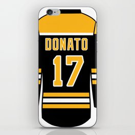 Ryan Donato Jersey iPhone Skin