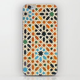 Details of Lindaraja in the Alhambra iPhone Skin