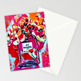 No 5 Pink Colored Stationery Cards