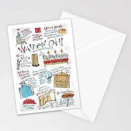 Warren OH! Monumentally Stationery Cards