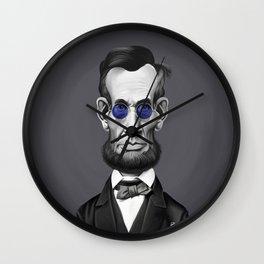 Abraham Lincoln (Steampunk) Wall Clock