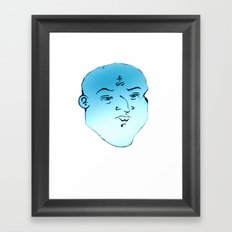 F A C E 5 Framed Art Print