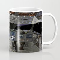 nasa Mugs featuring Space Shuttle NASA by Planet Prints