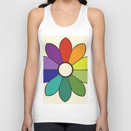 James Ward's Chromatic Circle 1903 (no background; interpretation) Unisex Tank Top