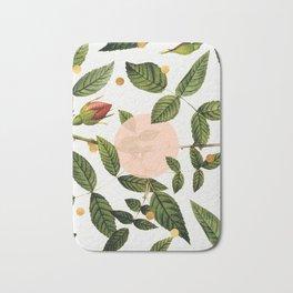 Leaves + Dots Bath Mat