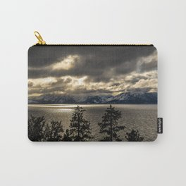Lake Tahoe Winter Carry-All Pouch