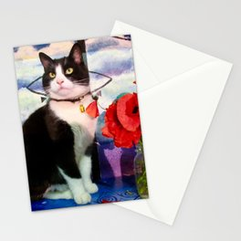 Orazio and the poppies Stationery Cards