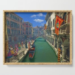 Venice Canal Ultra HD Serving Tray