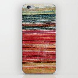 Ethnic fabric iPhone Skin
