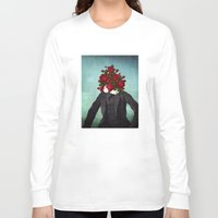 romantic Long Sleeve T-shirts featuring MR. Romantic by Diogo Verissimo