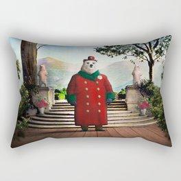 Ambassador Ulysses Ursa in the Embassy Gardens Rectangular Pillow