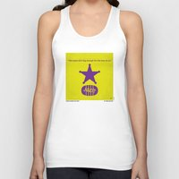 toy story Tank Tops featuring No190 My Toy Story minimal movie poster by Chungkong