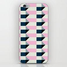 Crispijn Pink & Blue iPhone Skin