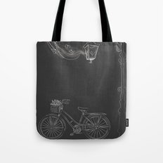 Under the Lamp Tote Bag