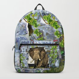 African Elephant Backpack
