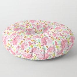 Hildie The Hedghog Floor Pillow