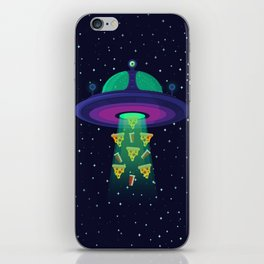 Alien Munchies iPhone Skin
