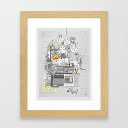 Crap Stuff Framed Art Print