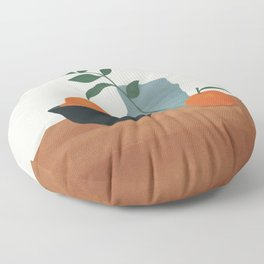 Tangerine Floor Pillow