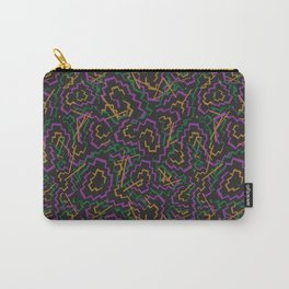 Zig Zag Abstract Geometric Pattern Carry-All Pouch