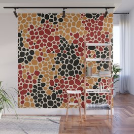 African Styles Pattern 1 Wall Mural