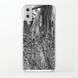 Miami Roots Clear iPhone Case
