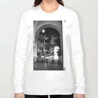 prague Long Sleeve T-shirts featuring Prague Station by MereMades