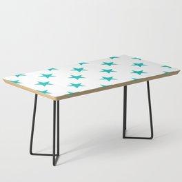 Stars (Eggshell Blue/White) Coffee Table