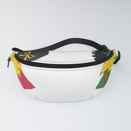 African american kids, black history month, baby design Fanny Pack