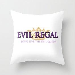 Evil Regal 2  Throw Pillow