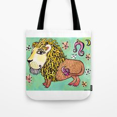 ox MAJESTIC LEO xo Tote Bag